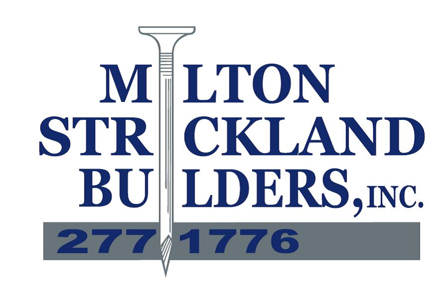 Milton Strickland Builders Inc. logo