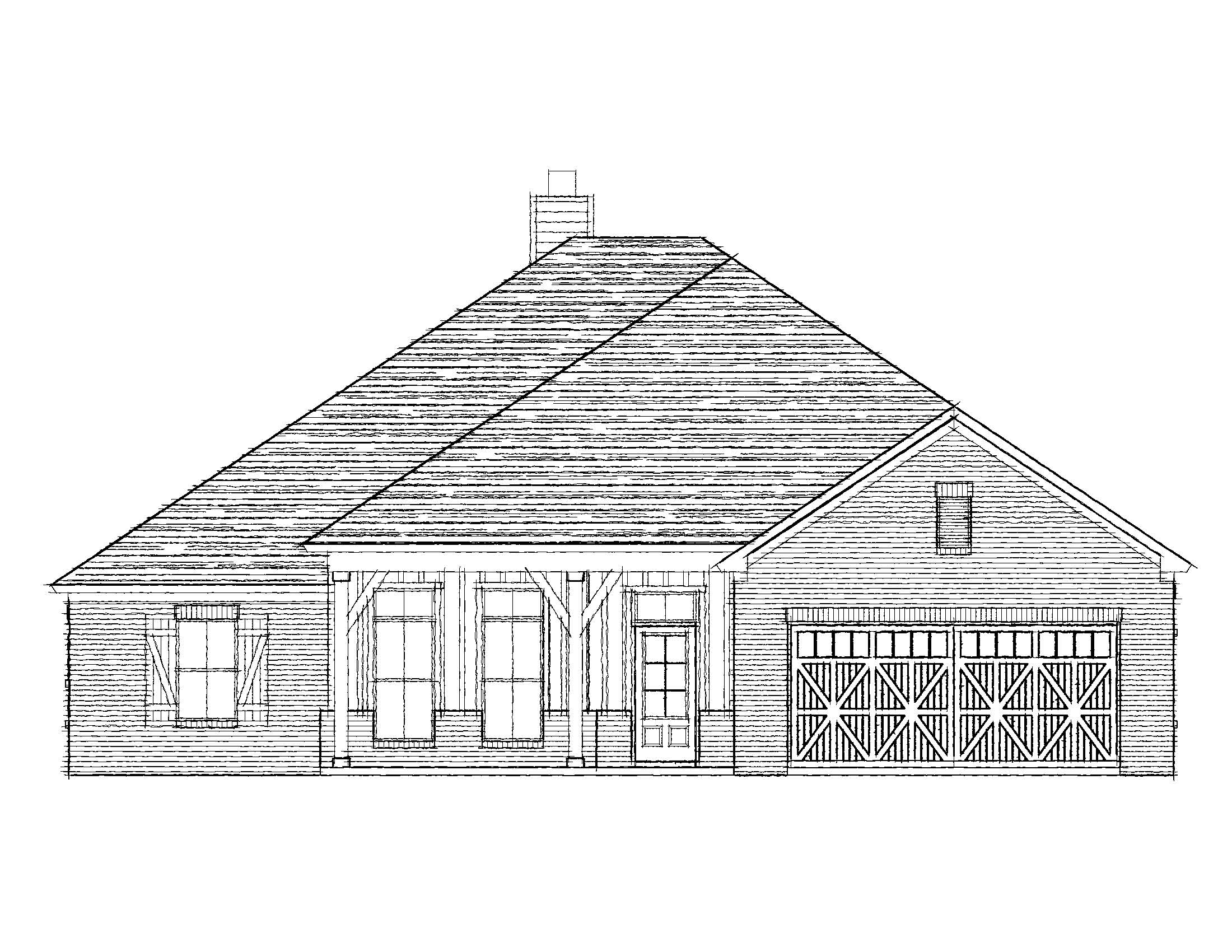 Drawing of a home